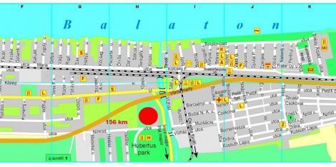 balatonfenyves térkép Galéria balatonfenyves térkép